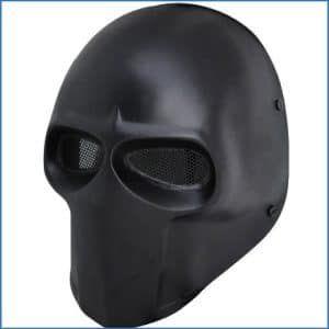 FMA New Blcak Wire Mesh Full Face Protection Paintball Skull Mask