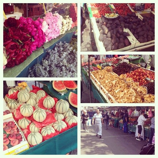 Marché d'Aligre - Mercato di frutta e verdura, oggi frequentato anche dai famosi gourmet parigini. In mezzo alla piazza un piccolo mercato delle pulci a ottimi prezzi. Aperto solo il mattino  da martedì a domenica  www.marchedaligre.free.fr