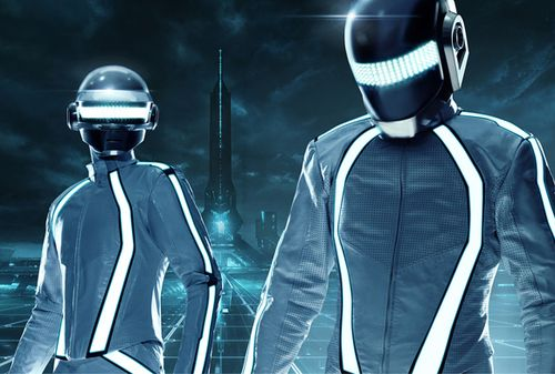 Daft Punk...did the Tron soundtrack...it's incredible!!! I hope they do more film music in the future.