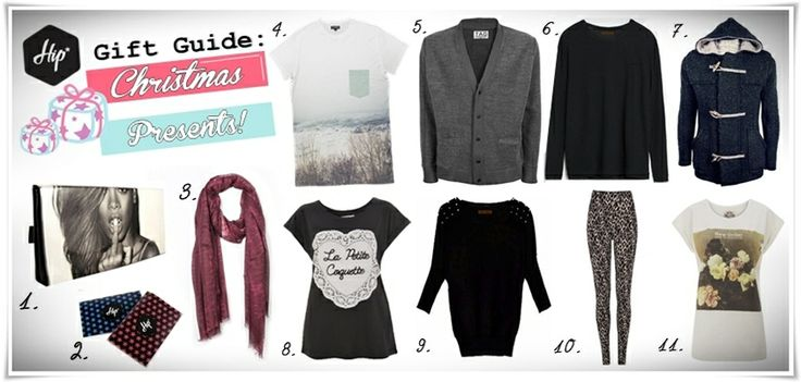 """Christmas presents for him and for her! 1. Printed Clutch Bags - Marietta's Ηandmade 2. Card Holders - Marietta's Ηandmade 3. Unisex Scarf - BLAUMAX 4. """"Iver"""" t-shirt - The Cuckoos Nest 5. Cardigan - TAG Modest 6. Wool Sweater - Tailor Made knitwear 7. Wool Knitwear - Tailor Made Knitwear 8. La Petite Coquette womens boyfriend-tee - Worn By 9. Wool Sweater - Tailor Made Knitwear 10. Animal print leggings - WALK 11. New Order womens boyfriend-tee - Worn By #Hip #Hipyourteez #Tshirts"""
