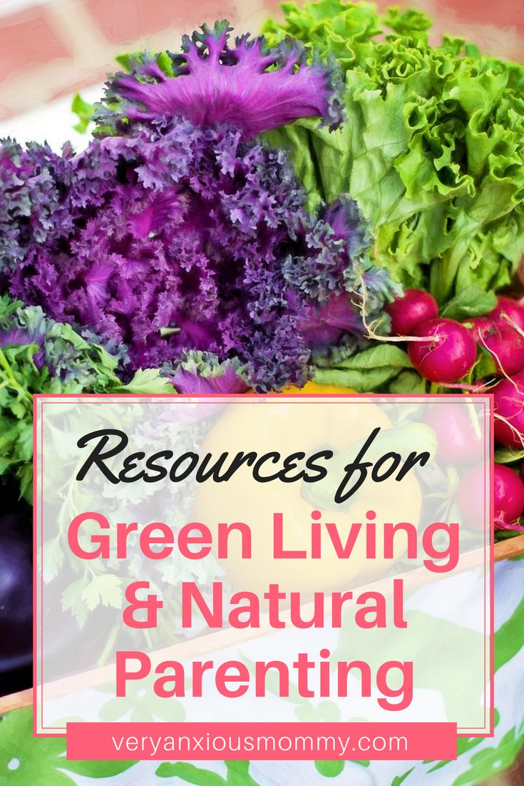 Resources for Green Living and Natural Parenting