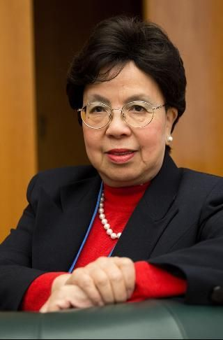 Margaret Chan is Director-General, World Health Organization. Initially trained as a Home Economics teacher at the Northcot College, she  earned a BA degree in Home Economicsand  her MD degree at the University of Western Ontario, as well as an MSc (Public Health) degree at the National University of Singapore. Dr. Chan completed the Program for Management Development at Harvard Business School.