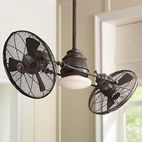 Minka Aire Vintage Gyro Oil Rubbed Bronze Ceiling Fan