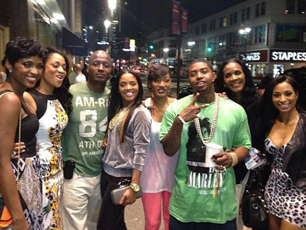 You have to love this photo of (most of) the cast of Love And Hip Hop: Atlanta chilling out in NYC — peacefully — this week. [Rasheeda's Twitter]