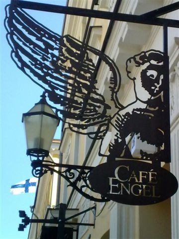 Café Engel by the Senate Square.