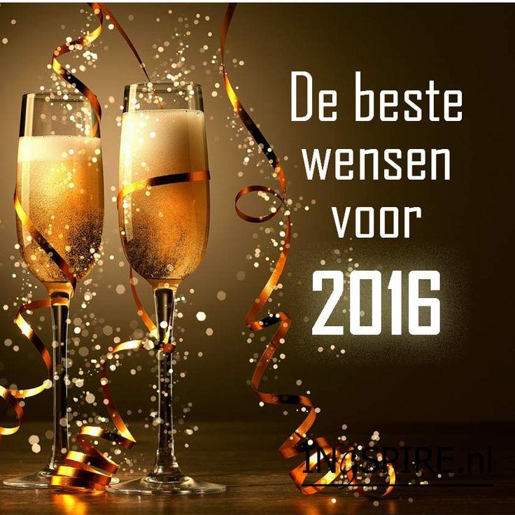 Nieuwjaarswens De beste wensen voor 2016 Spreuken