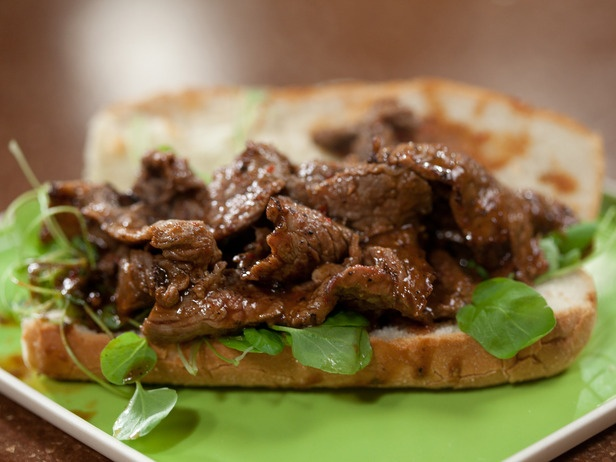 Make-ahead Meal 3 Minute Steak Hoagies with Homemade Steak Sauce Recipe