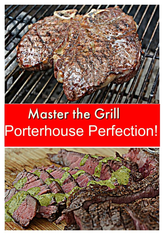 Take your Grill Skills to the next level with this guide to grilling the Perfect Porterhouse Steak!