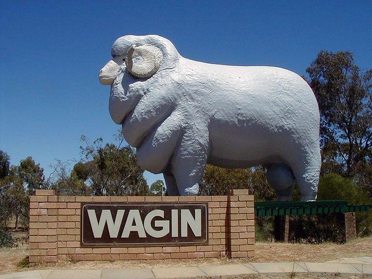Giant Ram, Wagin, Western Australia