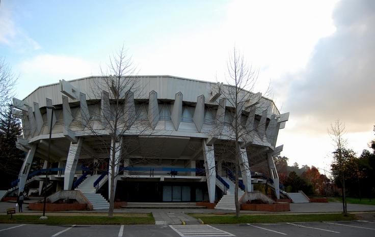 Edifio  Aulas de la Unuversidad de Concepcion , Chile
