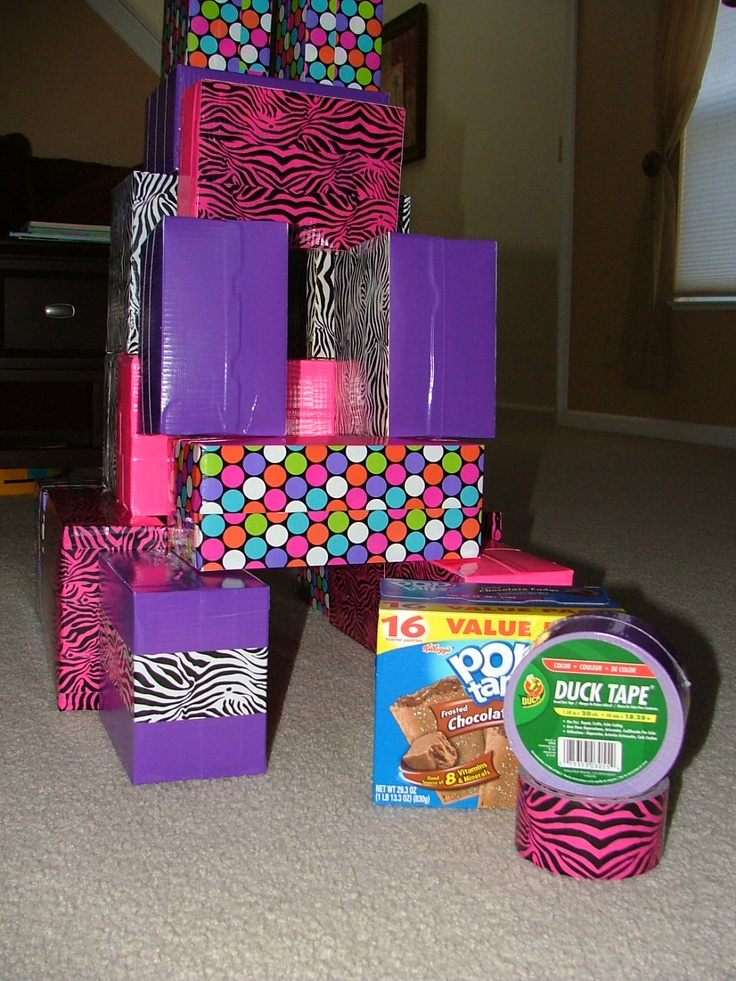 diy building blocks empty food boxes stuffed with. Black Bedroom Furniture Sets. Home Design Ideas