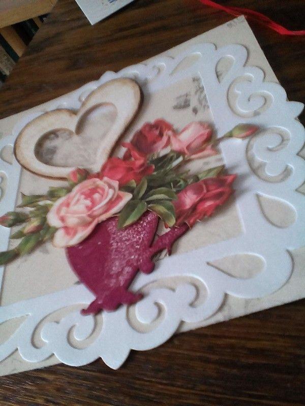 Kartka na imieniny a może z  wyrazami miłości?