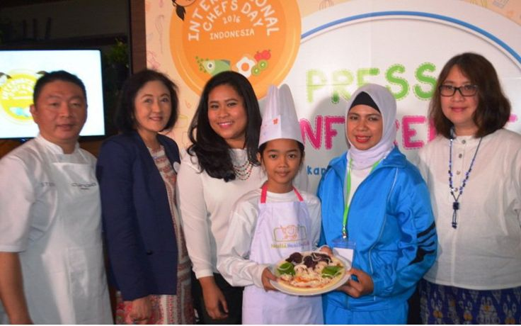 Hari Chef Sedunia, Nestlé ajak anak-anak mengenal pola makan sehat