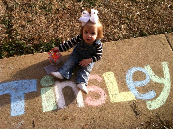 Cute toddler photo idea