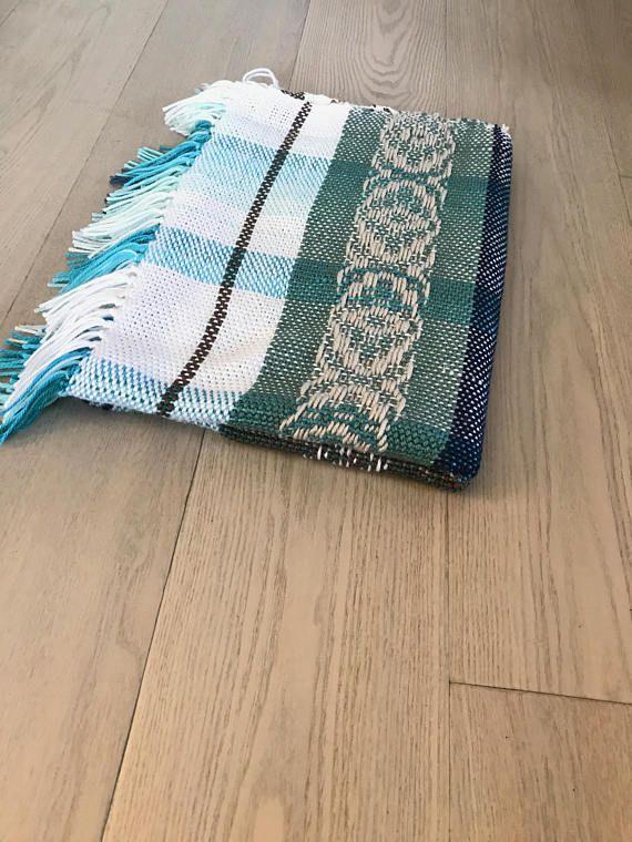 Handwoven Acrylic Blanket No. 6.5