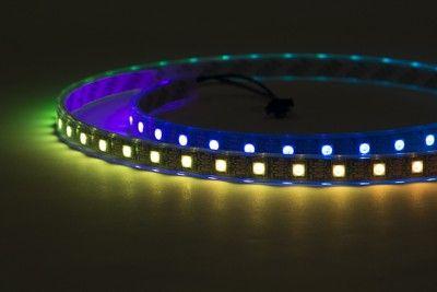 Latest, flicker free, digital RGB addressable LED weatherproof strip with faster APA102 chip