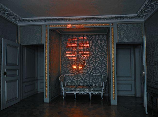 Klaus Grünberg, light design for DARKNESS 1816 at Schloss Benrath, Düsseldorf, 2016