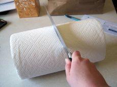 Gebruik papieren handdoeken - Deel tips