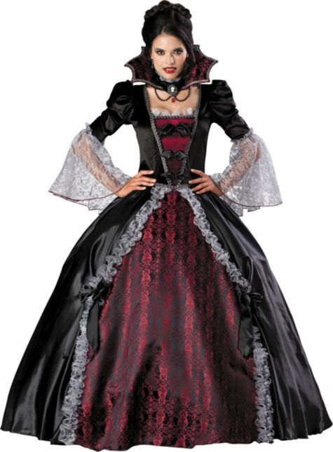 Adult Elite Vampiress of Versailles Costume - Party City