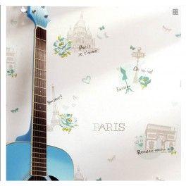 papel caselio Paris del catalogo Girls Only