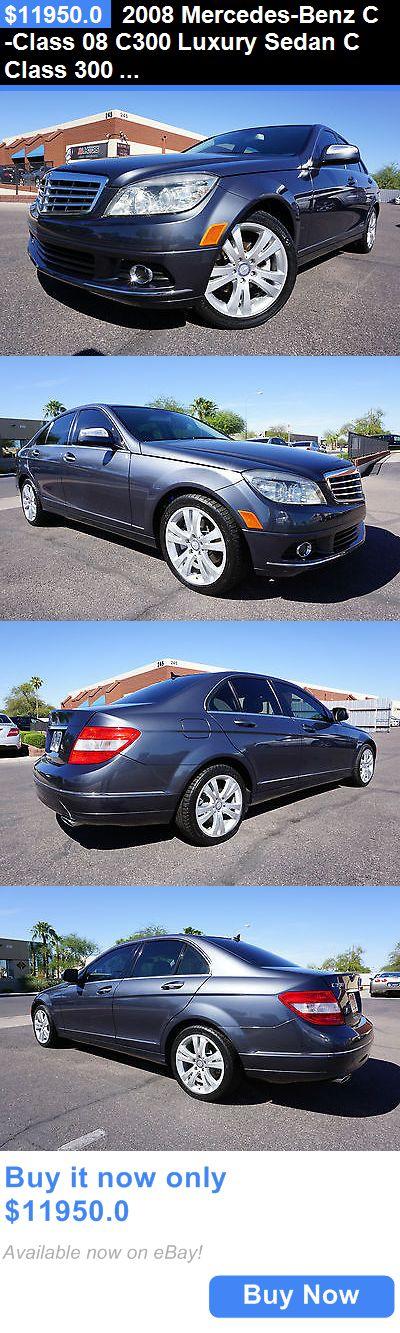 Luxury Cars: 2008 Mercedes-Benz C-Class 08 C300 Luxury Sedan C Class 300 2 Owner Clean Car 2008 Mercedes C300 Luxury Package Sedan Like 2009 2010 2011 2012 2013 C BUY IT NOW ONLY: $11950.0