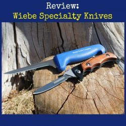 Review: Learn About Wiebe Specialty Skinning Knives  Giveaway