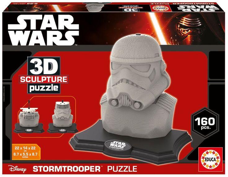 3D Skulptur Puzzle   Star Wars   160 Teile   EDUCA