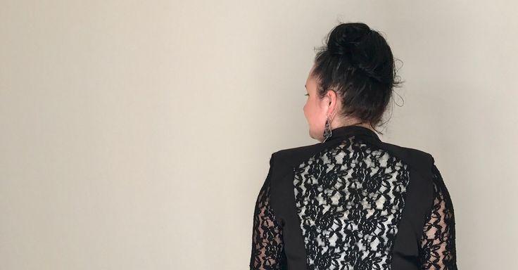 Black Caviar Jacket, Lace Jacket, Leisurewear, Womenswear