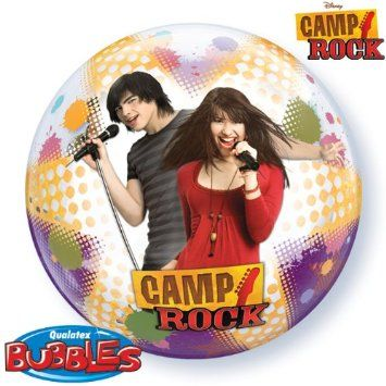 "Camp Rock 22"" Qualatex Bubble Balloon: Amazon.co.uk: Toys & Games"