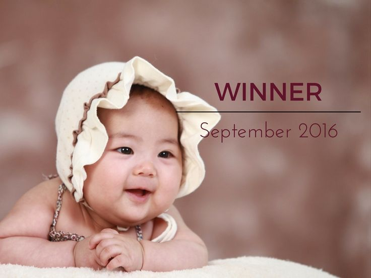 I hope everyone has had a great week and that you are enjoying the start of the school holidays?  This was a really great baby competition and I am so glad to have been able to bring back these competitions again since so many moms have been asking for them!  And here is the moment you have all