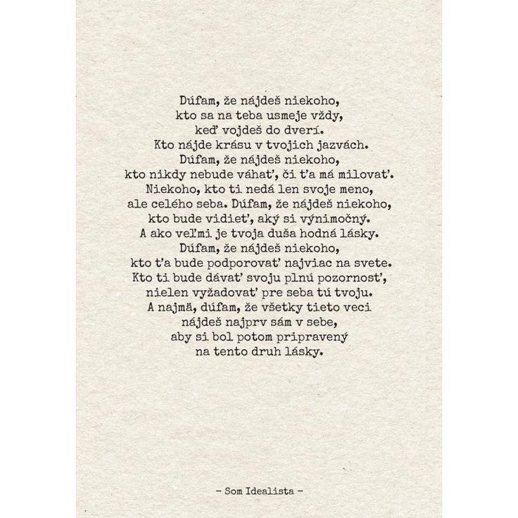 Som Idealista - Kniha citátov | Vesele-veci.sk