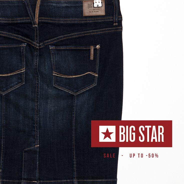 #jeansstore #fallwinter14 #fall #winter #autumn #autumnwinter14 #onlinestore #online #store #shopnow #shop #fashion #bigstar #sale #50% #womencollection #women #skirt #denim #jeans #wendy #standardfit #mediumrise #midi