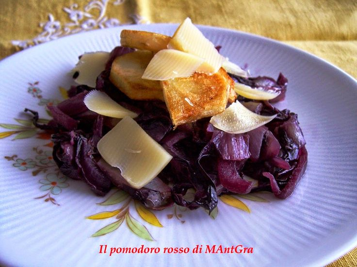 Il Pomodoro Rosso di MAntGra: Radicchio e patate