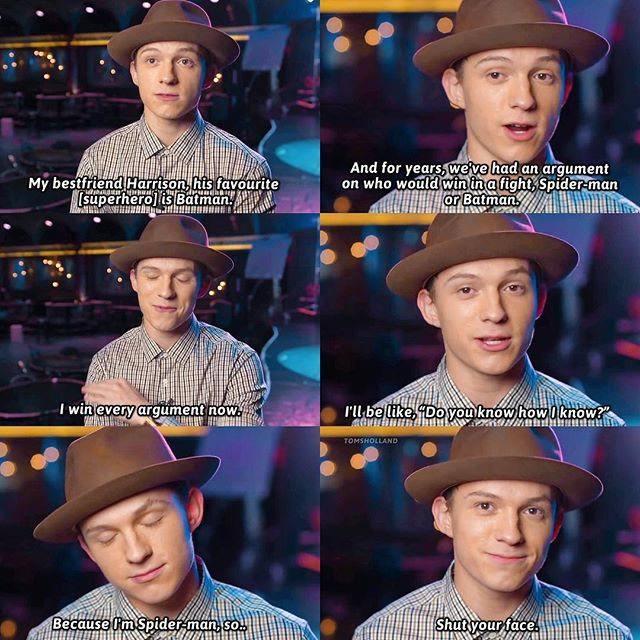"[NEW] Tom interviewed for ""The Hollywood Reporter"" magazine! Tom Holland talks on his friendship with Harrison (@hazosterfield) and their arguments between Spider-man and Batman. – @tomholland2013 