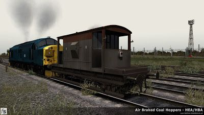 Weathered CAR brake van for Train Simulator 2014
