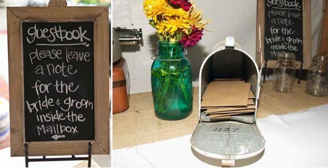 the wedding & event planner: RUSTIC WEDDING DETAILS