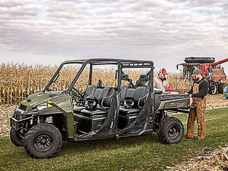 New 2016 Polaris RANGER Crew XP 900-6 Sage Green ATVs For Sale in North Carolina. 2016 Polaris RANGER Crew XP 900-6 Sage Green, 2016 Polaris® RANGER Crew® XP 900-6 Sage Green Features may include: Hardest Working Features The ProStar® Engine Advantage The RANGER CREW® 900 ProStar® engine is purpose built, tuned and designed alongside the vehicle resulting in an optimal balance of smooth and reliable power. The ProStar® 900 engine was developed with the ultimate combination of high power…