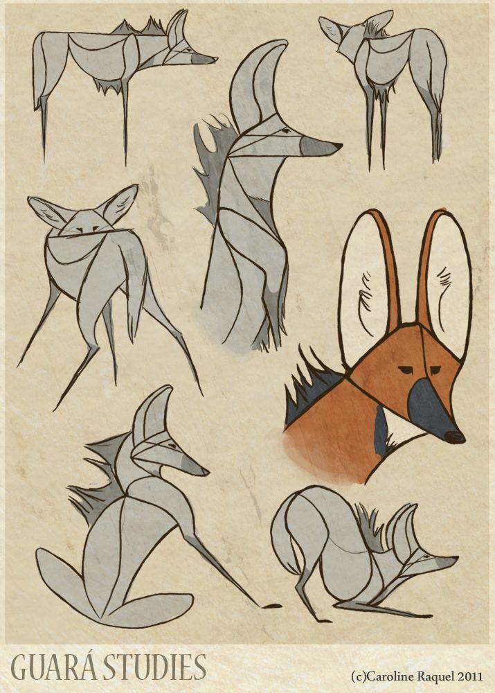 lobo guará desenho - Pesquisa Google
