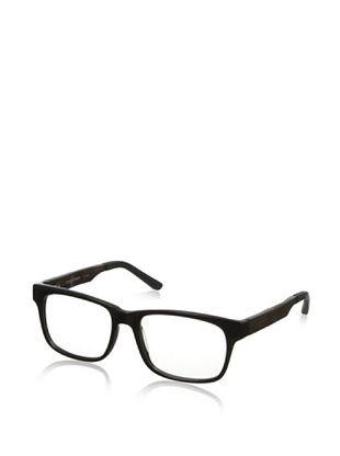 72% OFF Ivory + Mason Men's Fairfax Eyeglasses, Shiny Black/Walnut