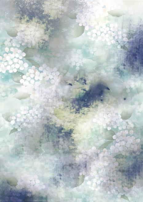 Digital Textile Prints by Eloise Rapp, via Behance