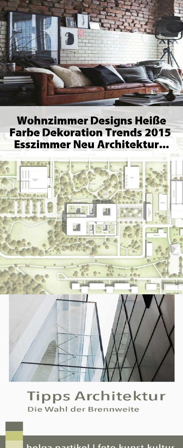 Wohnzimmer Designs Heiße Farbe Dekoration Trends 2015 ...