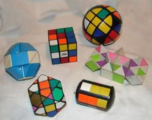 Had all of these   Rubik puzzles