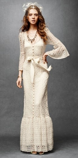 Tracy Reese gown via Bride Chic