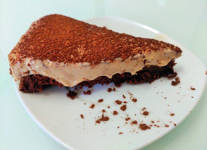 Tarta de chocolate con mousse de café para #Mycook http://www.mycook.es/cocina/receta/tarta-de-chocolate-con-mousse-de-cafe