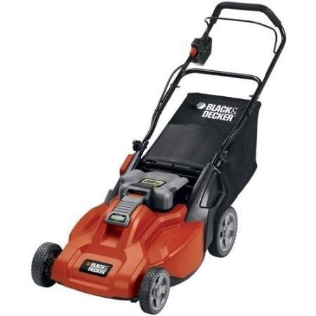 Cordless 36-Volt Black & Decker 19-Inch Electric Lawn Mower & Battery