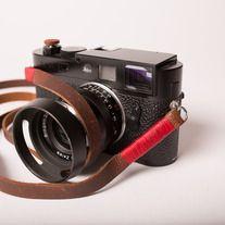 Midland Camera Strap, Red Wrap | Odessa Goods