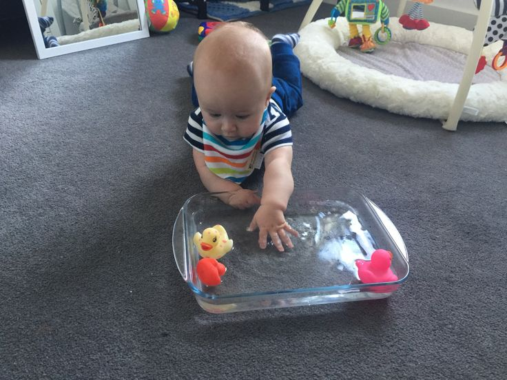 Lots of fun activities to try with your five month old baby including lots of tummy time ideas and fun around the house. All tried and tested by Dexter