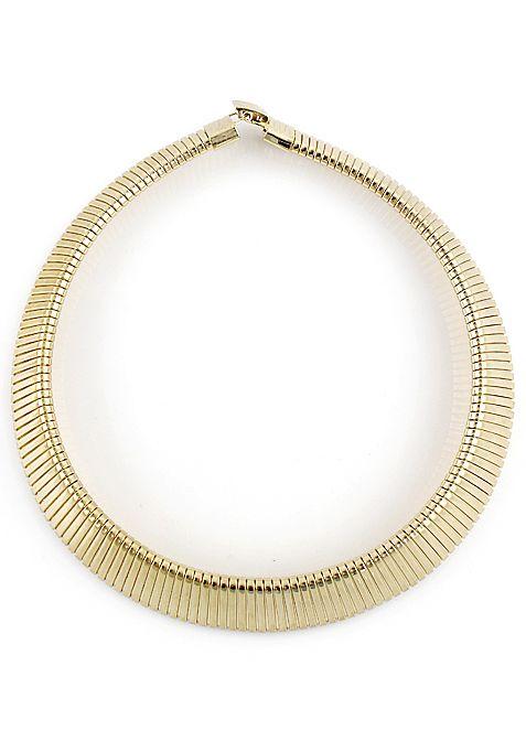 Fashion Gold Chain Collar Necklace - Sheinside.com