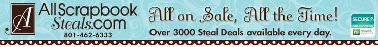 All About Scrapbook Ideas and Scrapbook Supplies Online | All Scrapbook Steals.com