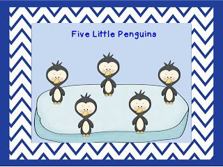 5 little penguin song